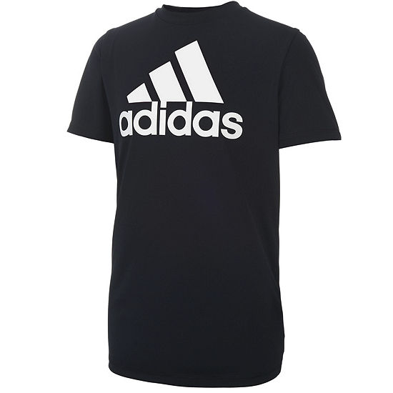 adidas Short Sleeve Graphic T-Shirt-Big Kid Boys
