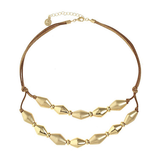 Liz Claiborne 17 Inch Collar Necklace