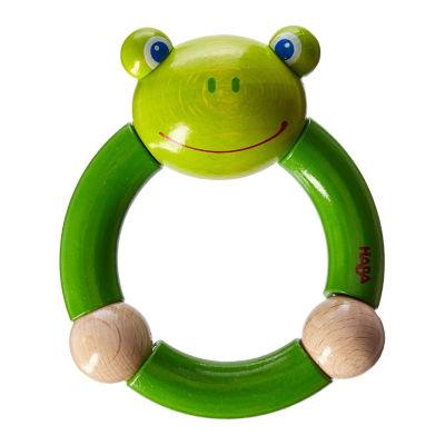 HABA Croaking Frog Clutching Toy