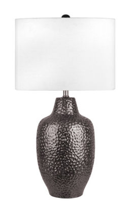 "Watch Hill 29"" Bella Ceramic Linen Shade Table Lamp"