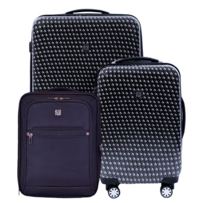 Ful Metal Chain 3-pc. Lightweight Hardside & Softside Luggage Set