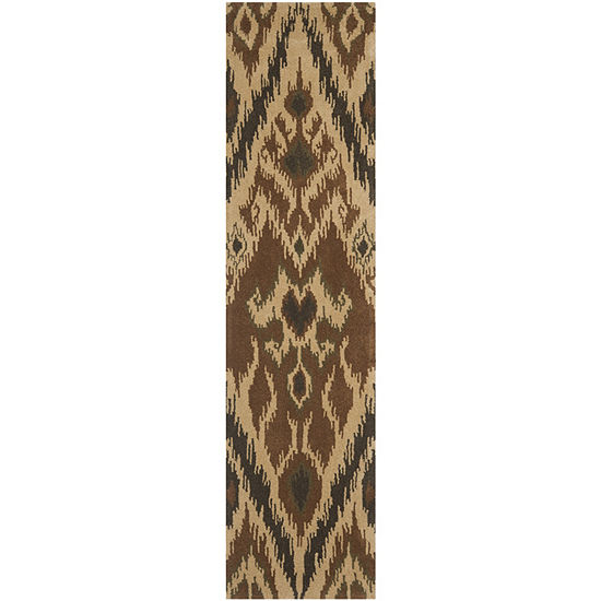 Safavieh Capri Collection Sonam Damask Runner Rug