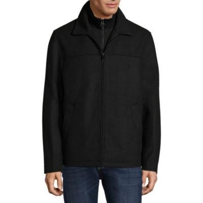 Dockers Wool Coat with Inner Bib