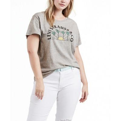 Levi's® Short Sleeve Crew Neck T-Shirt - Plus