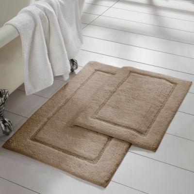 Pacific Coast Textiles Solid Cotton 2-pc. Bath Rug Set