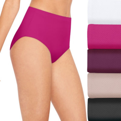 Hanes Ultra Light Breathable 5 Pair Jersey Brief Panty 40ulbb