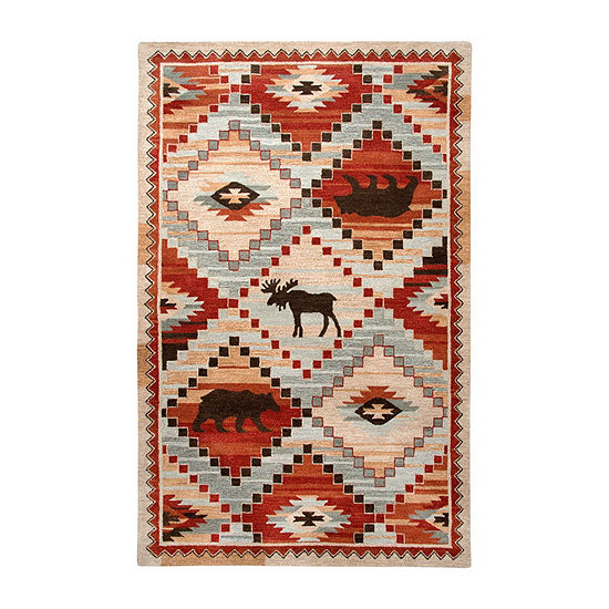 Rizzy Home Northwoods Collection Adolfo Hand-Tufted Area Rugs