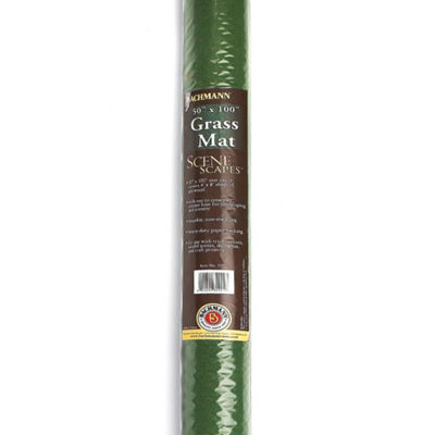 "Bachmann Trains Grass Mat - Meadow (100"" X 50"") -For Use With All Scales"