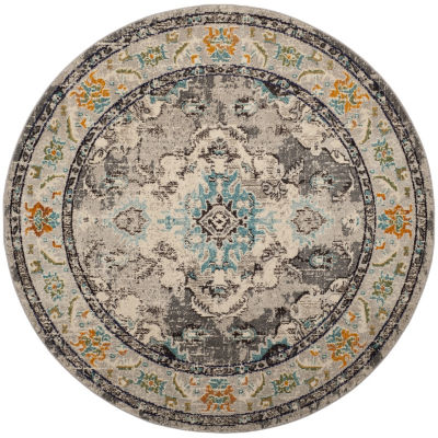 Safavieh Monaco Collection Clotilda Oriental RoundArea Rug