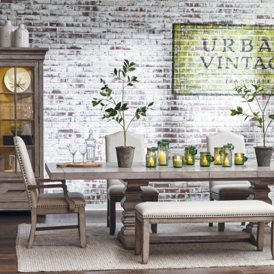 Prospect Hill Double Pedestal Dining Table