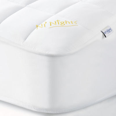 Sobel Westex Fitted Mattress Pad 8-Pack