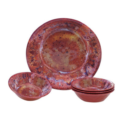 Certified International Radiance 5-pc. Salad Bowl