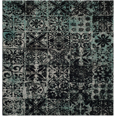 Safavieh Classic Vintage Collection Donald Geometric Square Area Rug