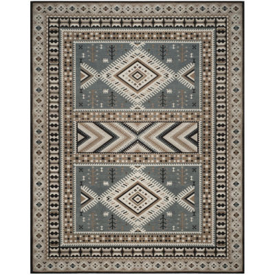 Safavieh Classic Vintage Collection Border Geometric Area Rug