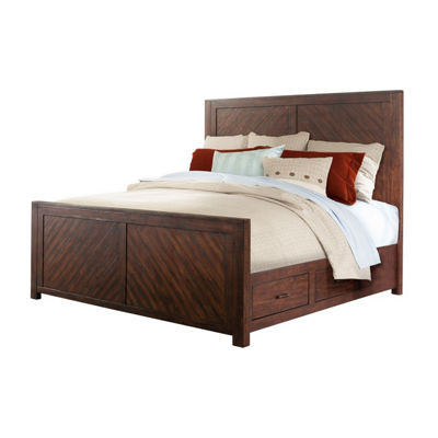Picket House Furnishings Dex Platform Storage 5-pc. Bedroom Set