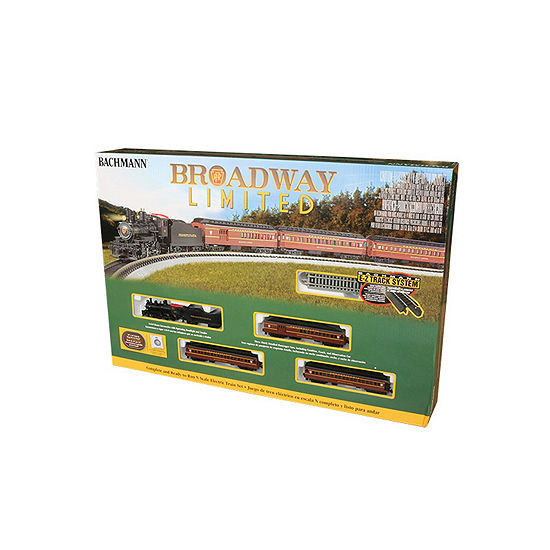 Bachmann Trains The Broadway Limited Ready To Run Electric Train Set -N Scale