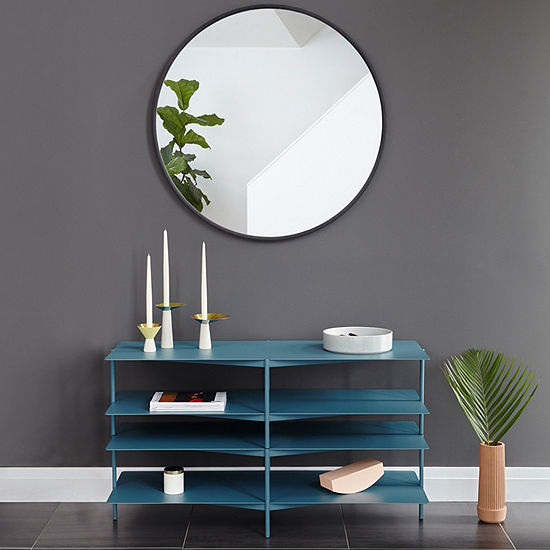 Umbra Hub 37 Black Wall Mirror Set