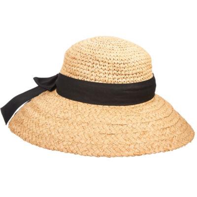 Scala Big Brim Cloche Hat