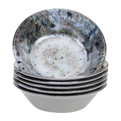 Certified International Radiance 6-pc. Ice Cream Bowl