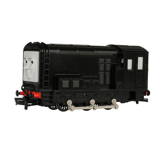 Bachmann Trains Grumpy Diesel Locomotive With Moving Eyes - Ho Scale