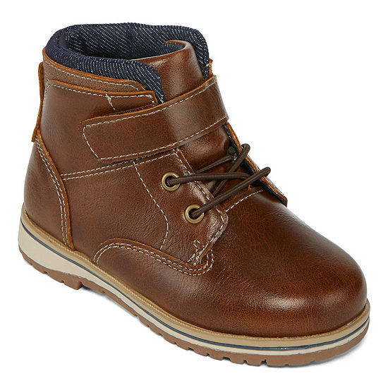 Okie Dokie Little Kid/Big Kid Boys Lil Cutter Lace Up Boots
