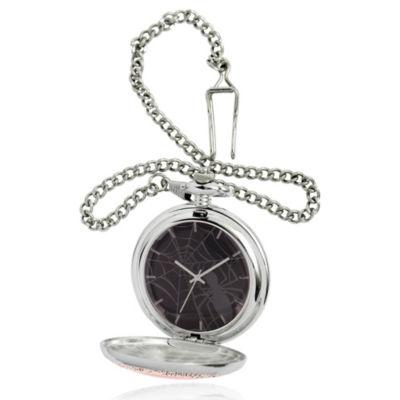Superman Mens Silver Tone Strap Watch-Wma000261