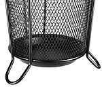 Mind Reader Metal Mesh Connected Umbrella Holder, Black