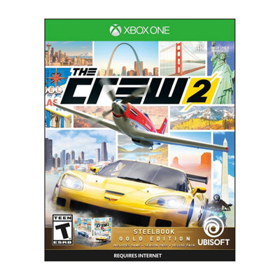 XBox One The Crew 2: Steelbook Gold Edition Video Game