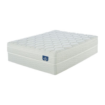 Serta® Sertapedic® Cherry Point Eurotop - Mattress + Box Spring