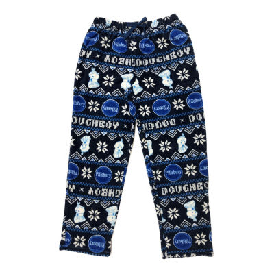 Pillsbury Doughboy Mens Plush Pajama Pants