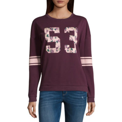 "Floral ""53"" Sweatshirt - Juniors"