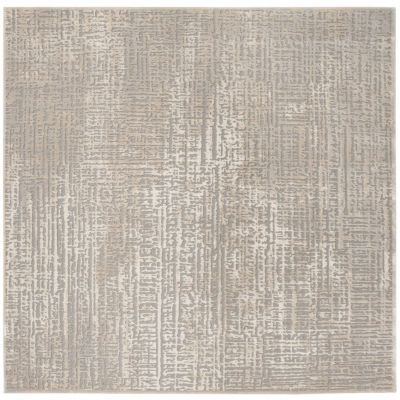Safavieh Meadow Collection Serenity Abstract Square Area Rug