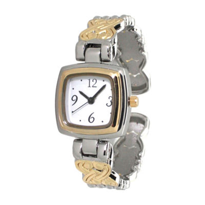 Olivia Pratt Womens Two Tone Bracelet Watch-A917574twotone