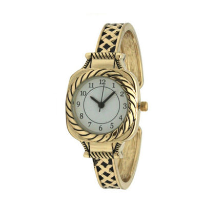 Olivia Pratt Womens Gold Tone Bracelet Watch-A917571gold
