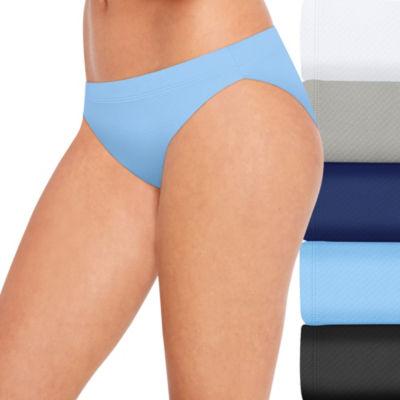 Hanes Ultra Light Breathable 5 Pair Jersey Bikini Panty 42ulkb