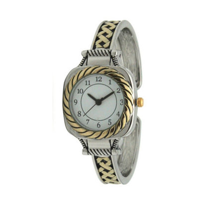 Olivia Pratt Womens Two Tone Bracelet Watch-A917571twotone