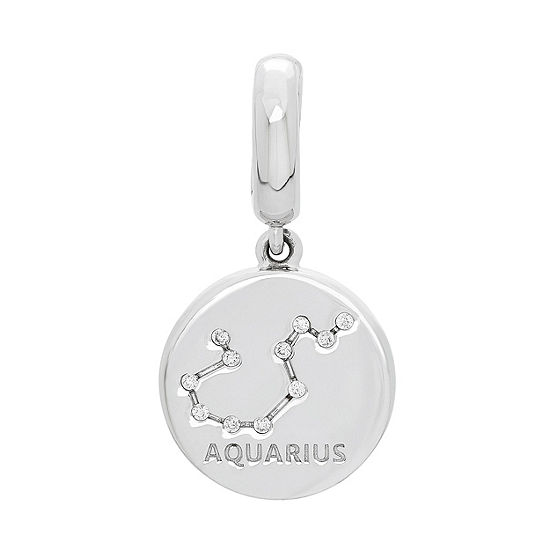PS Personal Style White Cubic Zirconia Charm