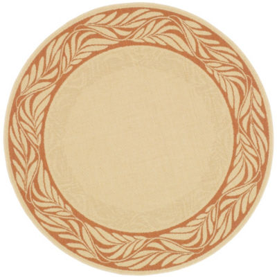 Safavieh Salena Oriental Round Indoor/Outdoor Rugs