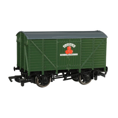 Bachmann Trains Ventilated Van - Sodor Fruit & Vegetable Co. - Ho Scale