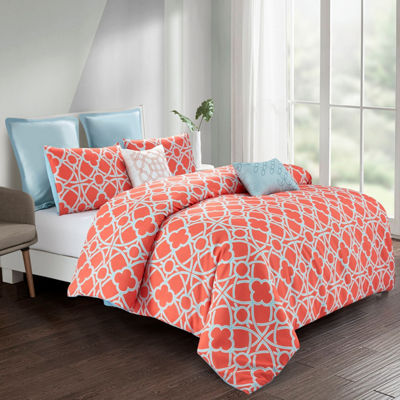 Wonder Home Avery 7-pc. Printed Comforter Set
