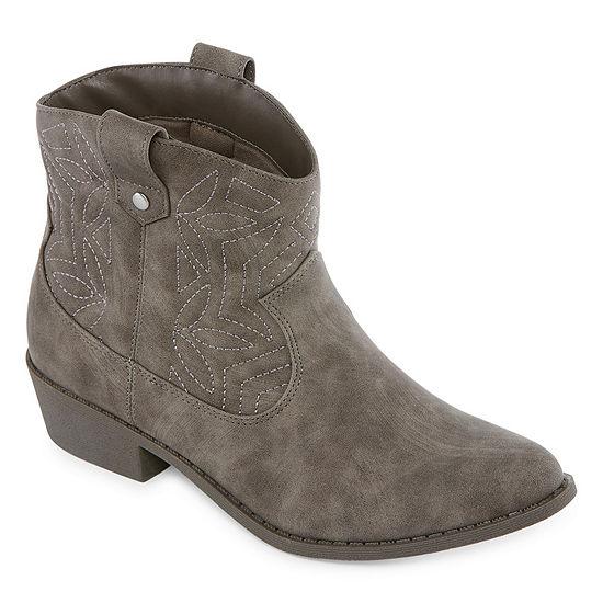 Arizona Womens Murano Cowboy Boots Block Heel