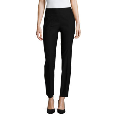 Liz Claiborne Luxe Super Stretch Ankle Pant - Tall