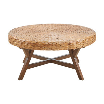 Ink+Ivy Seadrift Round Coffee Table