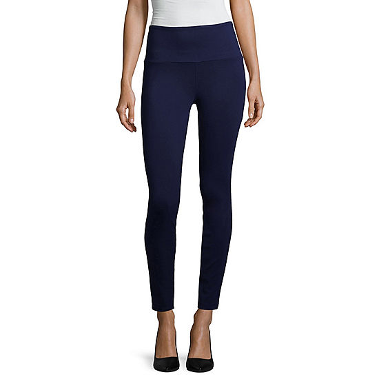21425d98a36d ana High Waisted Secretly Slender Ponte Legging JCPenney