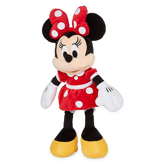 Disney Collection Red Minnie Mouse Medium 17 Plush