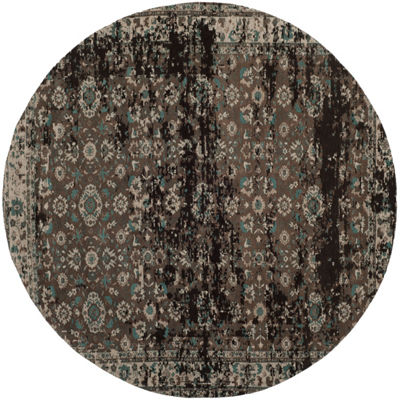 Safavieh Classic Vintage Collection Gino OrientalRound Area Rug