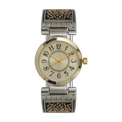 Olivia Pratt Womens Two Tone Bracelet Watch-A915788twotone