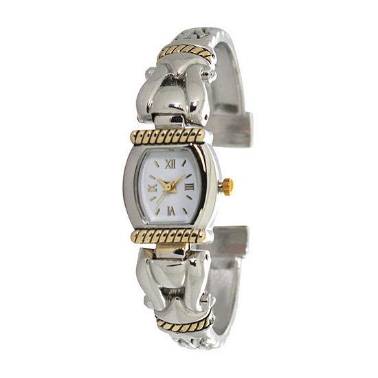 Olivia Pratt Womens Two Tone Bracelet Watch A916937twotone