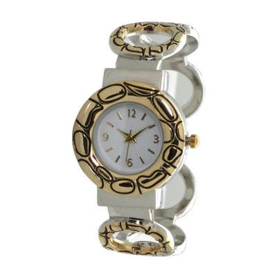 Olivia Pratt Womens Two Tone Bracelet Watch-A916978twotone