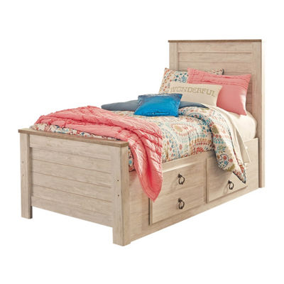 Signature Design by Ashley® Smithfield Twin Bed with Drawer Storage